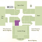 Coquitlam Centre map for Coquitlam dentist Greenline Dental