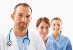 dentist and hygienists