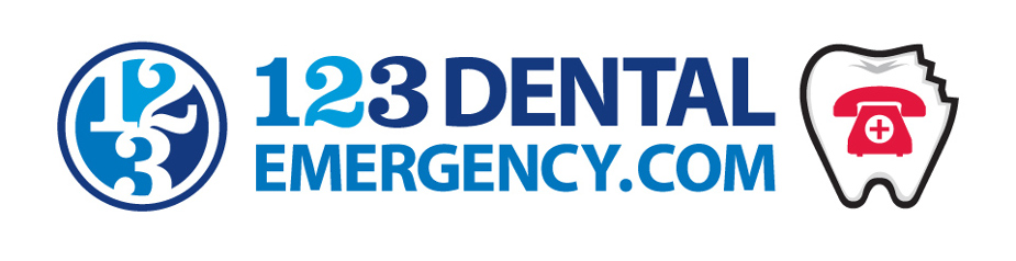 123 dental emergency logo